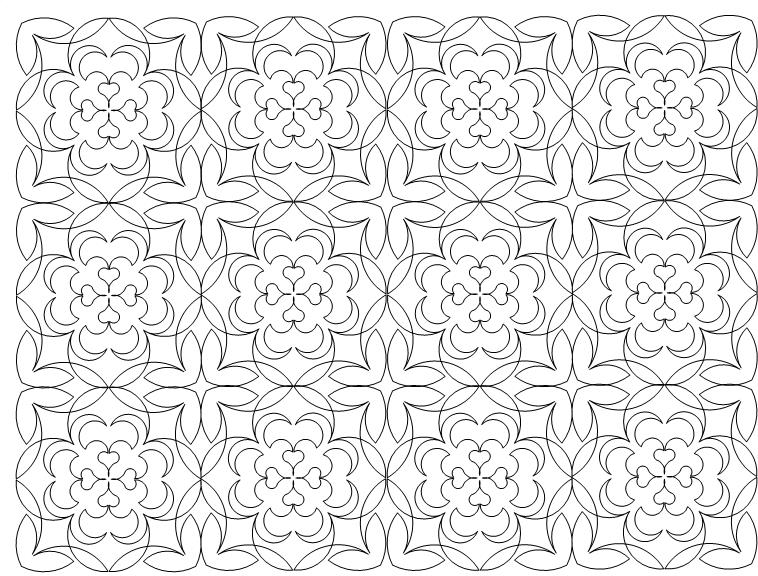 Churndash Quilt Pattern