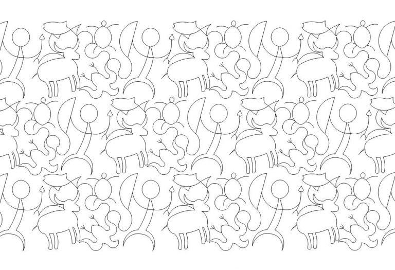 Petroglyphs Quilt Pattern