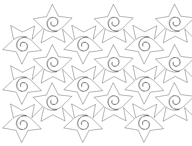 Starlets Quilt Pattern