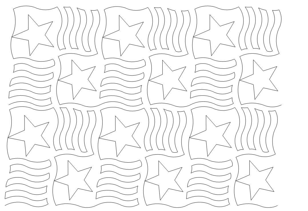 Stars n Stripes Pattern