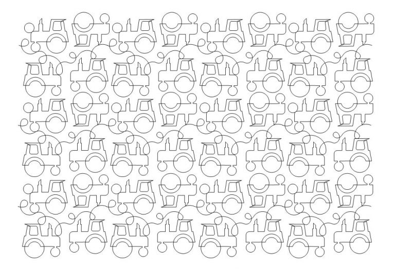 Tractor Pattern