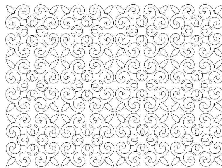 Twirl Quilt Pattern