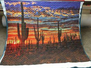 AZ Sunset Tapestry Quilt