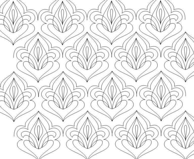 Damask Lotus
