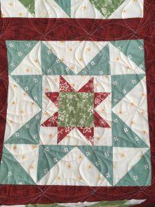 Sampler Block Quilt star block