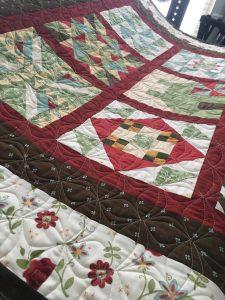 Sampler Block Quilt with Breadbasket E2E