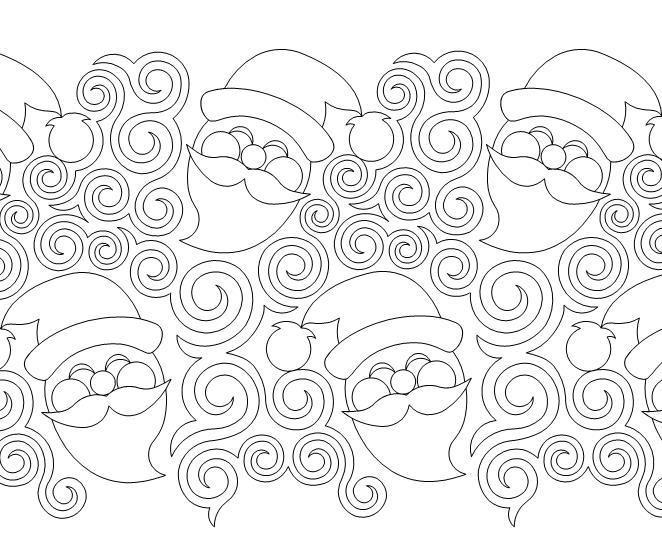 Santa Swirls